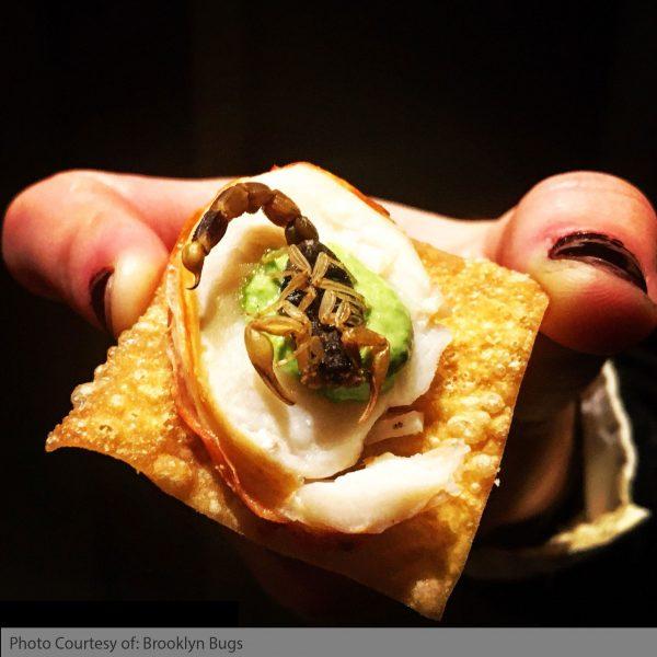 Scorpions as Food