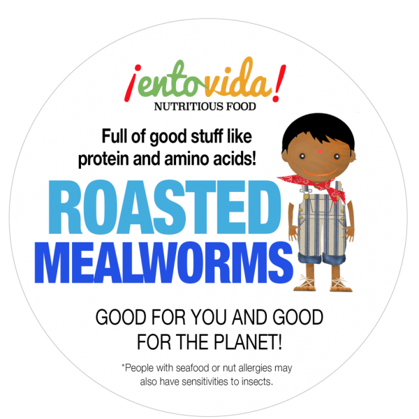 Roasted Mealworms